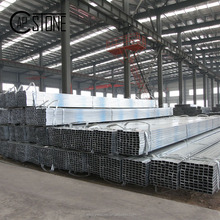China manufacturer galvanized steel hollow sections unit weight of square pipe