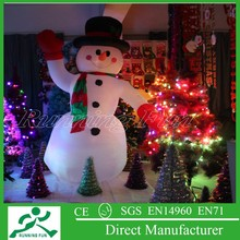 Lovely Christmas Decoration Hottest Inflatable Lovely Snowman