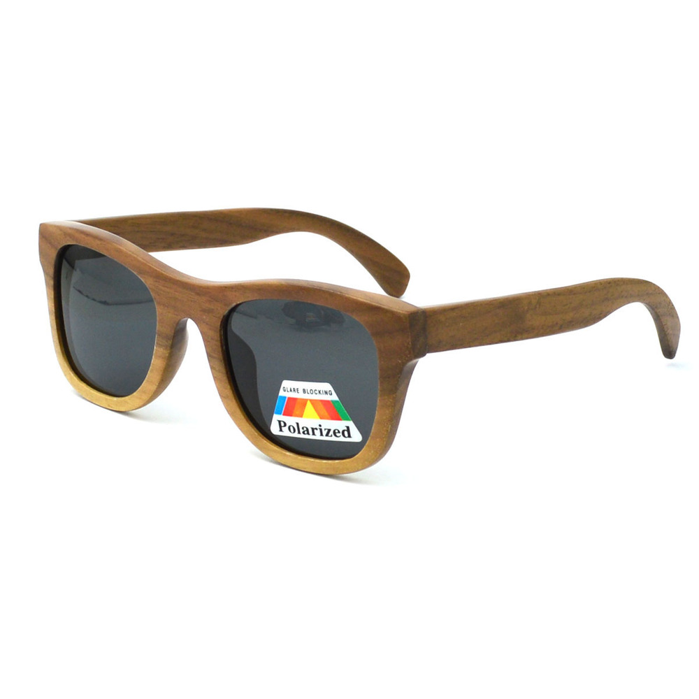 hot sale handmade unisex classic wood sun glasses