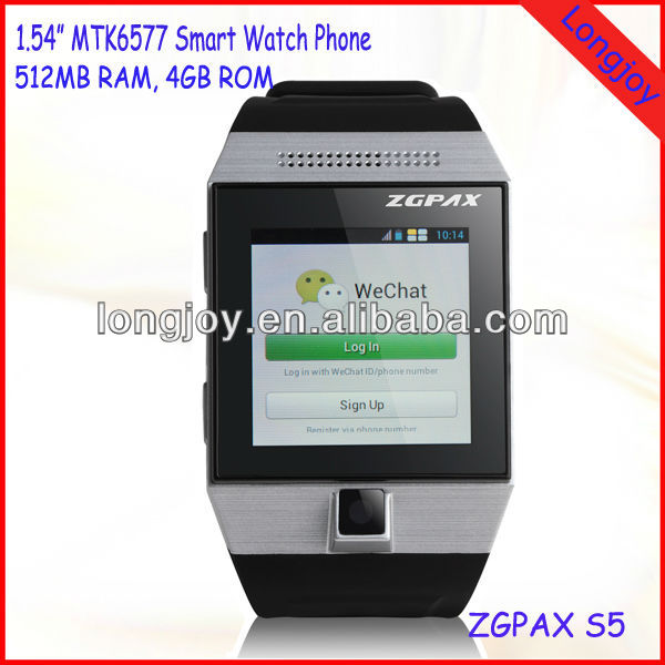 Digial Smart Bluetooth Wrist Watch Phone with Sync Function, Sync Phonebook, Call and SMS