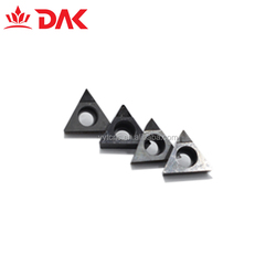 Diamond Cutting Tool PCD Tipped Indexable Turning tool TNGA160404 CBN and PCD cnc carbide insert