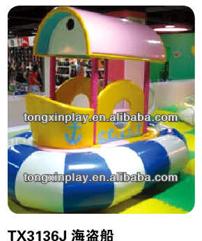 2013 HOT indoor kids soft play games TX-3136J / indoor soft naugty castle