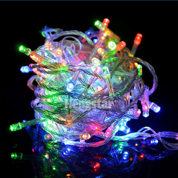 Competitive price christmas light ip65 christmas decoration 10m 100 led light string