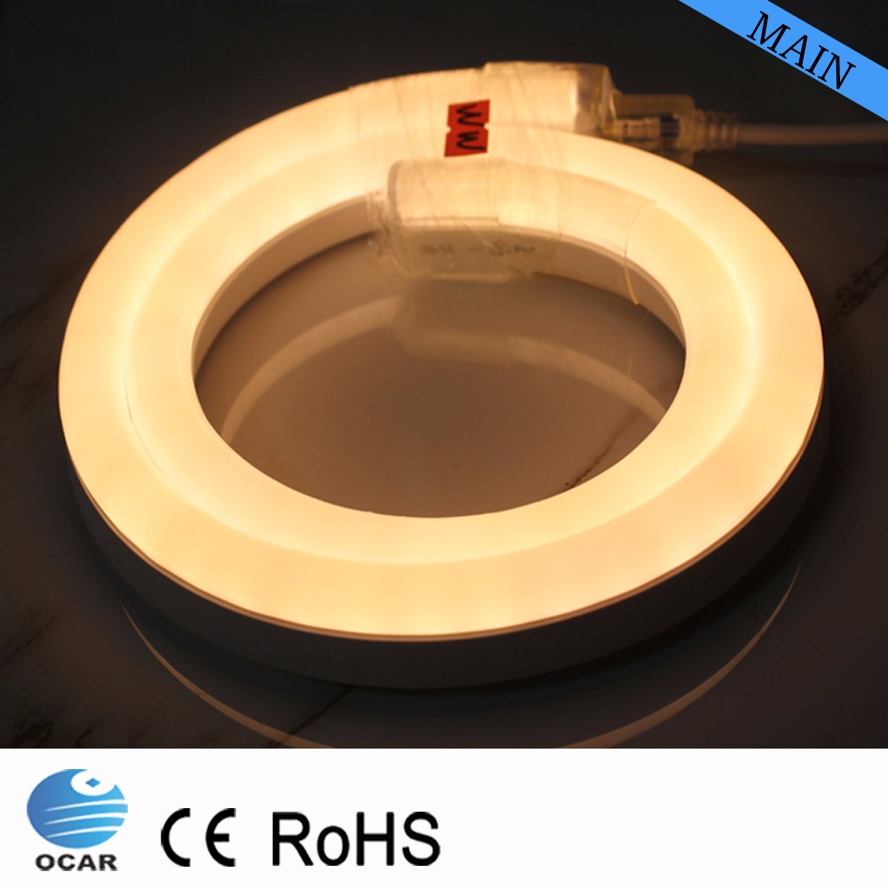 Cuttable Neon LED Tube PVC LED Neon Light Fixtures
