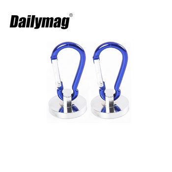Magnetic Swivel Carabiner Hook Magnet Hook With Neodymium Magnet Customized from Dailymag