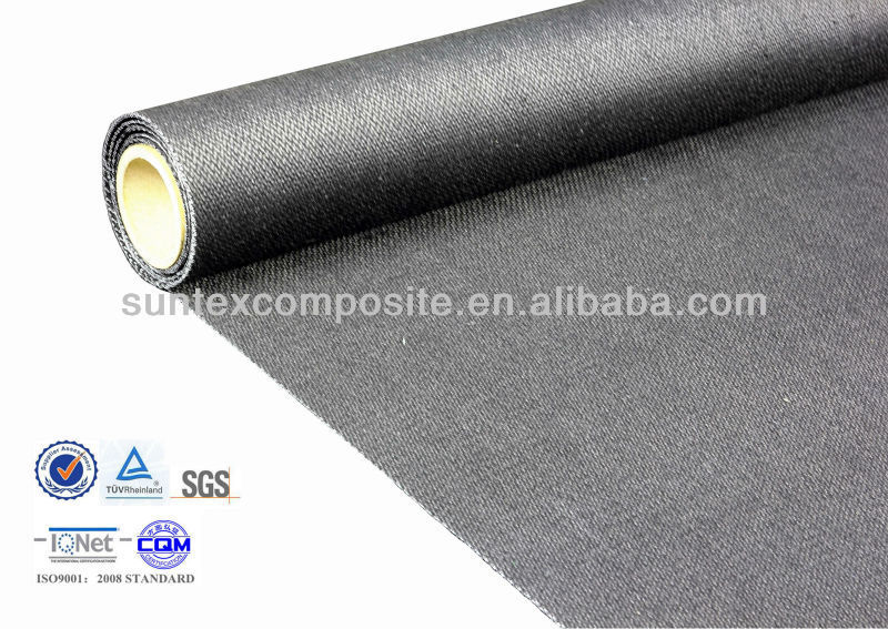 double side graphite coated 700C fire resistant insulation cover