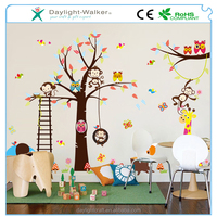 fashion pvc children wall decal /kids animal & flower room vinyl sticker