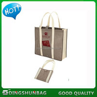Cheap stylish custom polyester foldable shopping bag