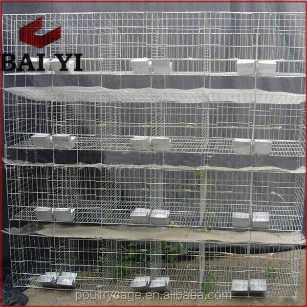 China Manufacturer Commercial Rabbit Breeding Hutches With Best Design