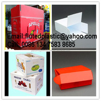 Durable PP corrugated plastic cartonplast box