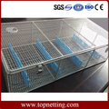Stainless Steel Endoscope Baskets / Endoscope Sterilization containers