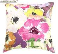 Felt Flower Decorative Felt Applique Waterproof Fabric Outdoor Cushion Cover