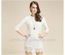 new design latest women casual patterns for mermaid lace dress