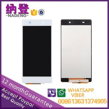 Best quality original for Sony xperia Z2 lcd touchscreen with original color