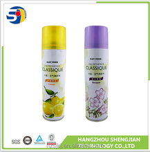 Different Models of pump spray air freshener with alcohol base
