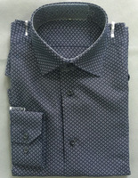 latest black checked formal shirt designs for men
