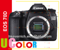 "Canon EOS 70D Digital SLR Camera Body Only 3"" Touch LCD"