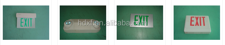 Rechargeable Emergency Exit Lights Led Fire Safety Exit Signs ...