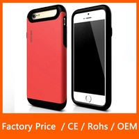 Hot Selling 2 in 1 Combo Armor Hybrid Silicone Mobile Phone Cover Case For Samsung