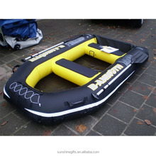 inflatable Towable banana inflatable boat EN71 for adults