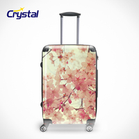 ABS PC Lightweight Trolley Luggage With