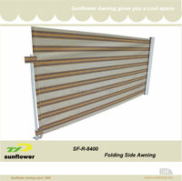 SF-R-8400 Out Door Awning Side Screen