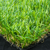 "Pile height 40mm 3/8"" Gauge PP+PET fabric Backing artificial turf for Landscapte or Sports"