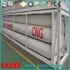 Liquid Nature Gas Tank Oxygen Gas Cylinder CNG Semi Trailer , High Quality Trailer