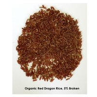 Organic Red Dragon Rice 5% Broken