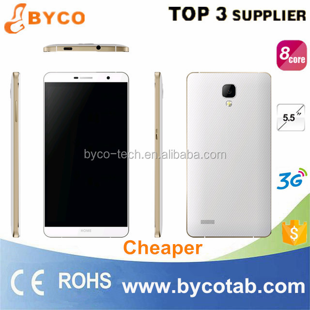 free sample mobile phone 5.5 inch big touch screen octa core dual sim mobile phone