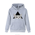 Romanticism 2017 Autumn Women Hoodies Casual Pullover Harajuku Fashion Crop Tops Long Sleeve Ladies Cat Cropped Sweatshirt