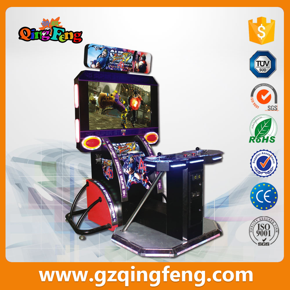 WW-QF208 electronic coin tekken video cabinet machine for sale