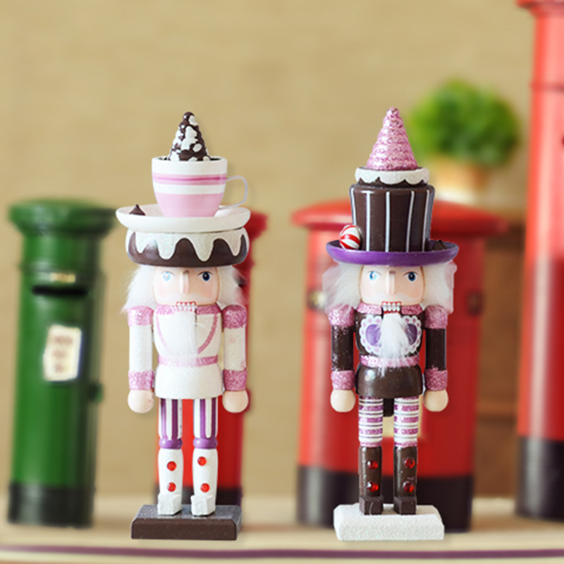 FQ brand wooden soldier nutcracker dolls for christmas decoration