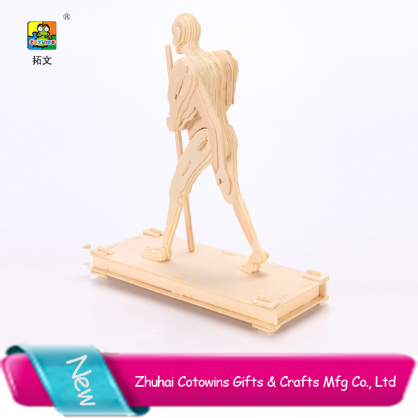 2014 cotowins Gandhi 3d wooden puzzle article wood model return gifts play games free games online