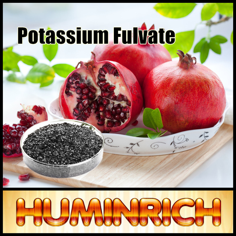 Huminrich Potassium Humate Fulvic 100% Soluble Humic Acid Powder Organic