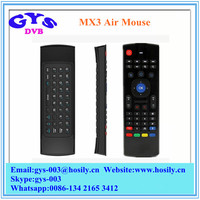 Newest MX3 IR Remote Control Mini Wireless Keyboard Wireless Air mouse with USB Receiver