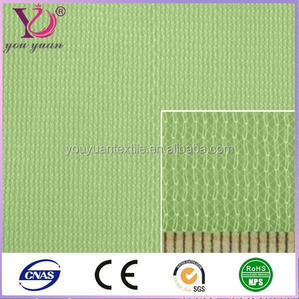 Jersey mock mesh sports fabric made in Fujian anycolor