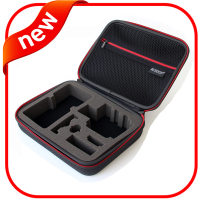 Eva protective case, waterproof eva foam case with zipper