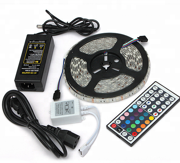 Waterproof SMD5050 12V 24V 5M led light strip For outdoor led strip light <strong>rgb</strong>