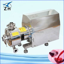 bitumen homogenizing pump skin care products ointment vacuum mixer emulsifier mayonnaise emulsifying pump