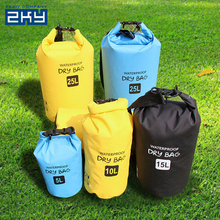 Accept custom backpacks folding portable outdoor camping travel swimming beach waterproof dry bag