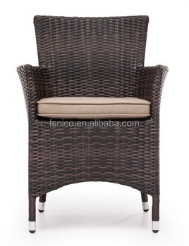 French rattan dining chair garden chair