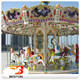 Old amusement park rides sale merry go round 24 seats carousel