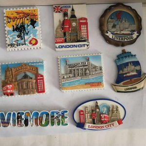 Tourist fridge magnet polyresin Romania souvenir fridge magnet