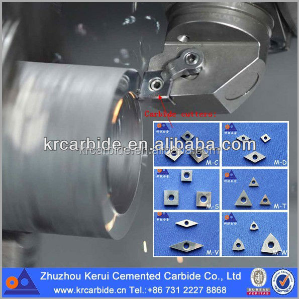 ZhuZhou factory of Solid machinery industrial parts tools tungsten carbide inserts