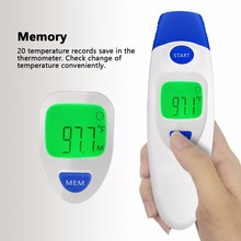 Factory pricing 2 in 1 infra-red thermometer, ear & forehead termometer with CE & FDA approved