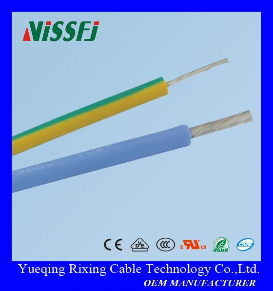 180 degree silicone rubber insualted tinned copper stranded heat resistant wire