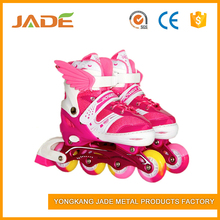 Running land detachable shoes bearing kids adults roller skate shoes fashion sew skate
