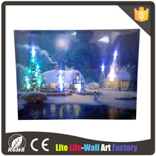 Hot Selling home goods led lighted canvas painting wall art