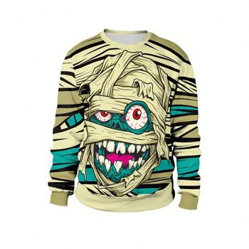 New Style Winter Pullover Fashion 3D Printing Halloween Sweatshirt